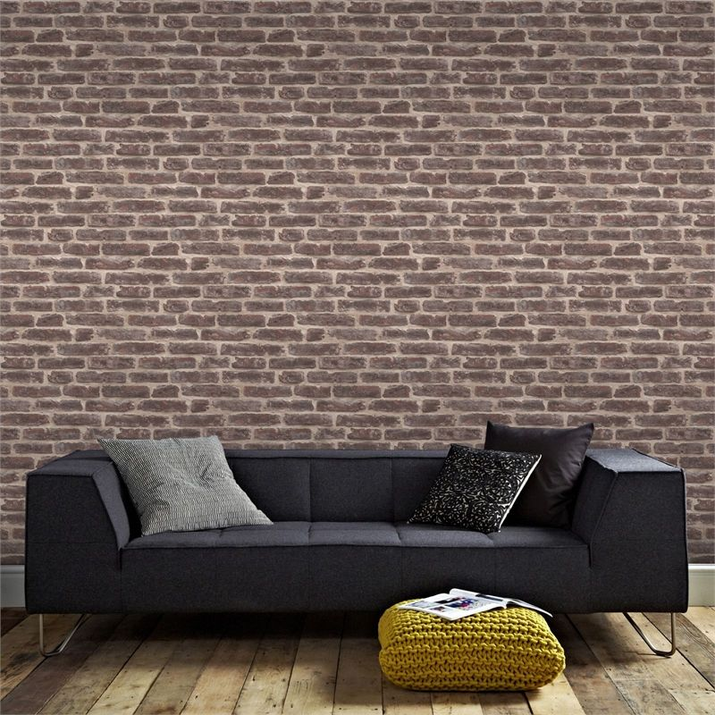 Superfresco Easy Paste the Wall Industry Wallpaper Rouge