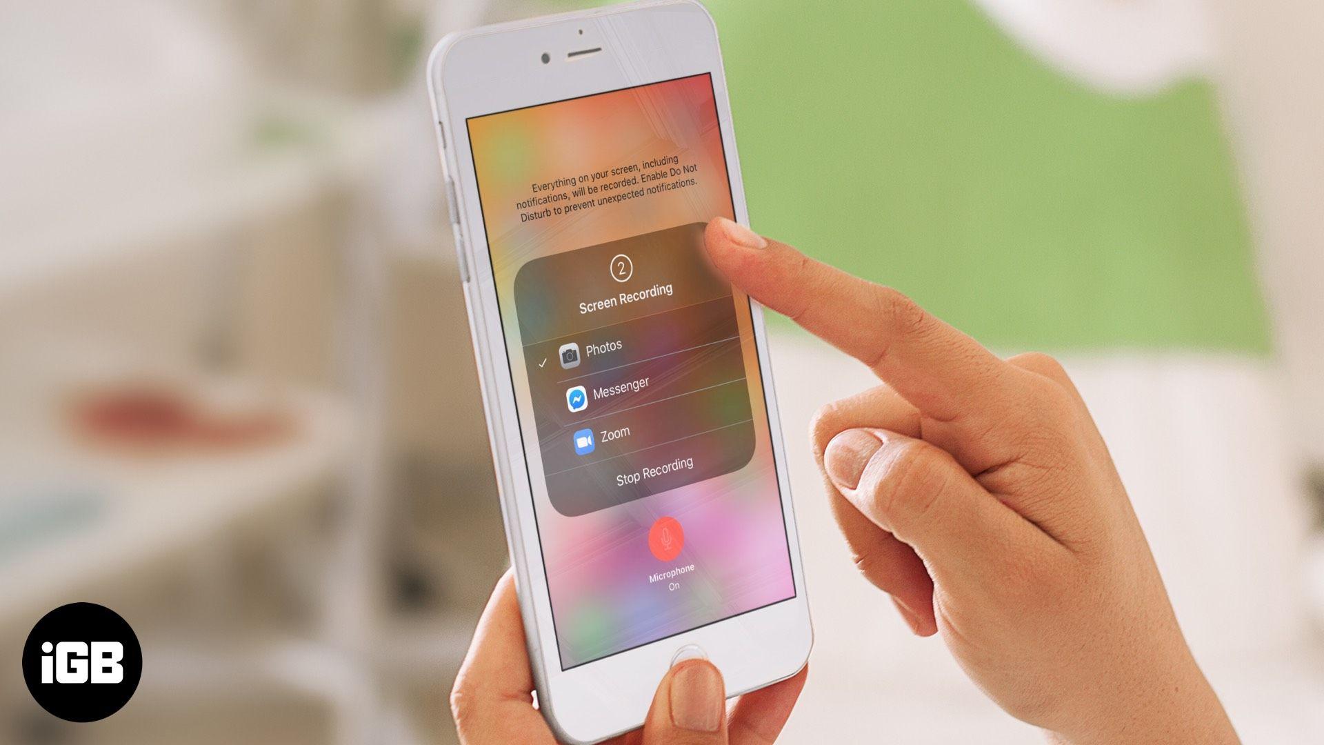 Cómo Grabar Pantalla En Iphone Ipad Y Ipod Touch Ipod Touch Ipod Ipad