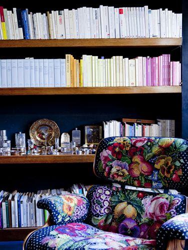 Chez Sonia Rykiel, Grazia, © julie ansiau