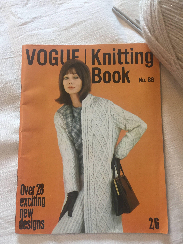 Vogue Knitting Book No. 66 - 1960\'s Vintage Knitting/Crochet ...