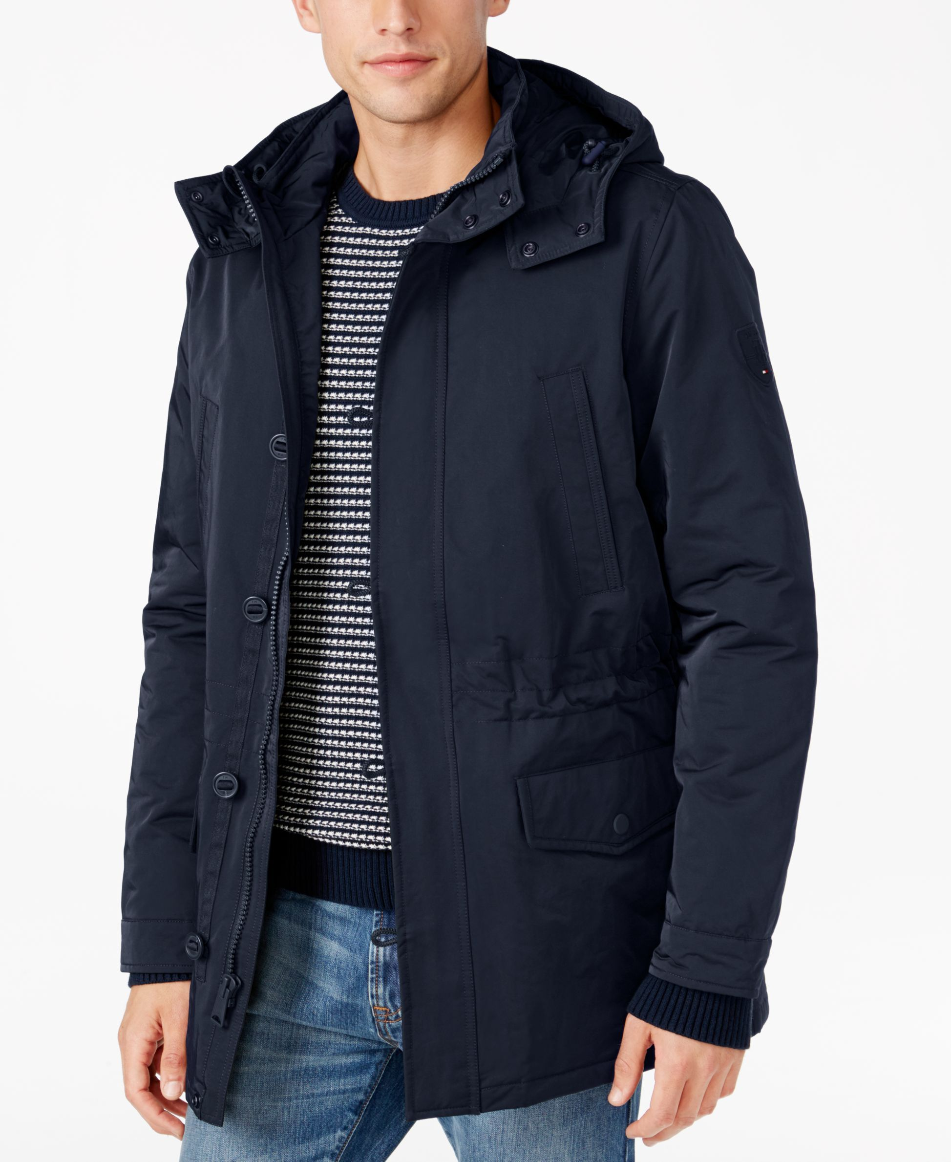 Tommy Hilfiger Men S Gibson Removable Hood Jacket Tommy Hilfiger Man Tommy Hilfiger Jackets [ 2378 x 1947 Pixel ]