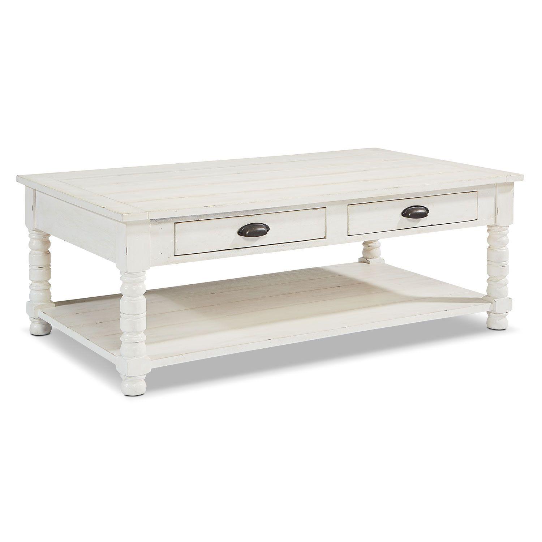 Accent and Occasional Furniture Primitive Bobbin Coffee Table