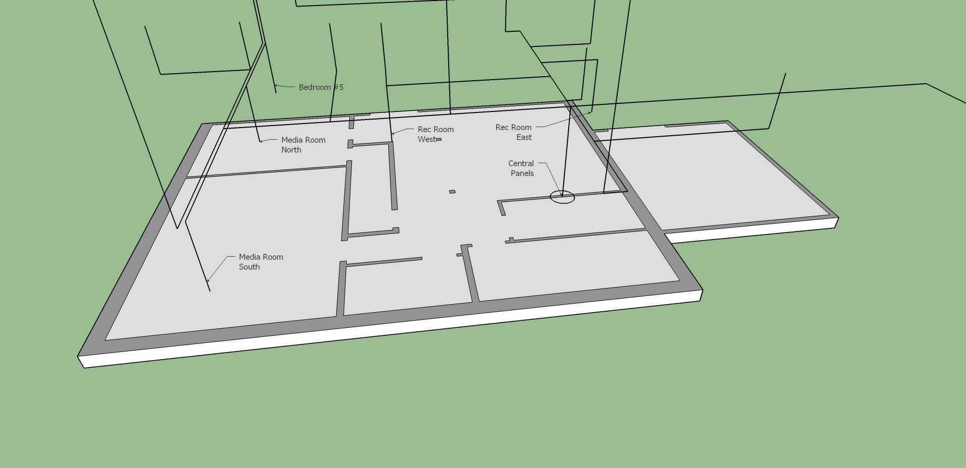 low voltage wiring diagram basement [ 1916 x 928 Pixel ]