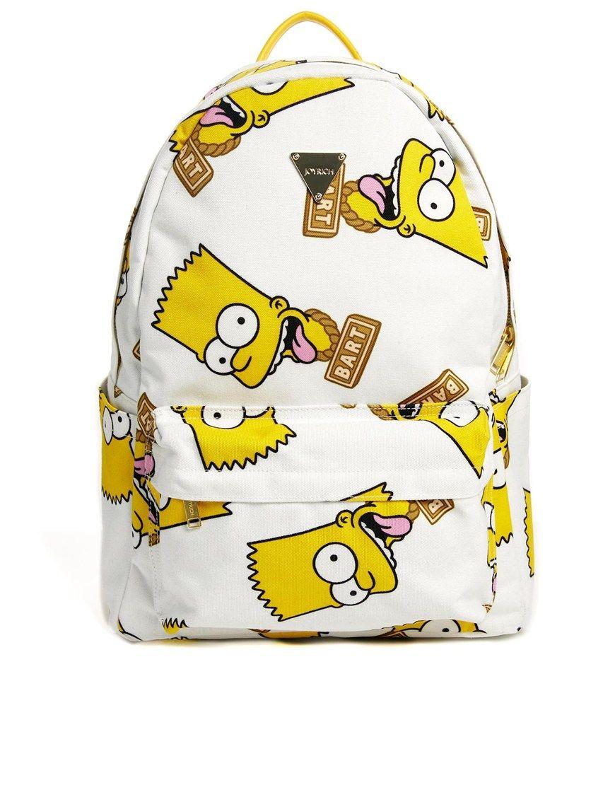 Joyrich x The Simpsons Bart Sipmson Backpack  ed2f84a29