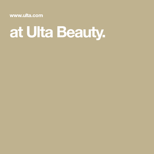 At Ulta Beauty In 2020 Ulta Ulta Beauty Ulta Hair