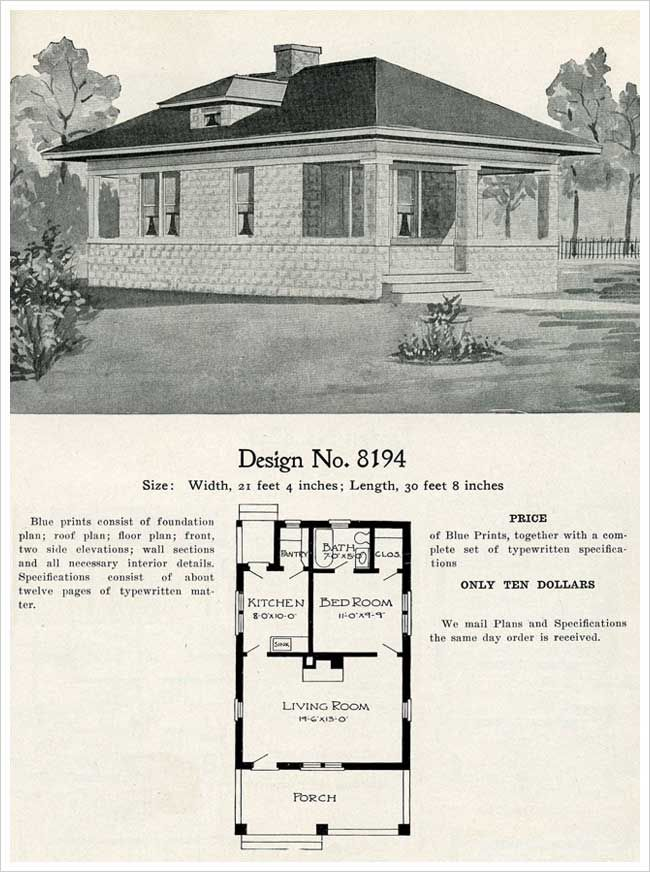 1909 Radford S Cement Houses No 8194 Pole Barn House Plans Barn House Plans Pole Barn Homes