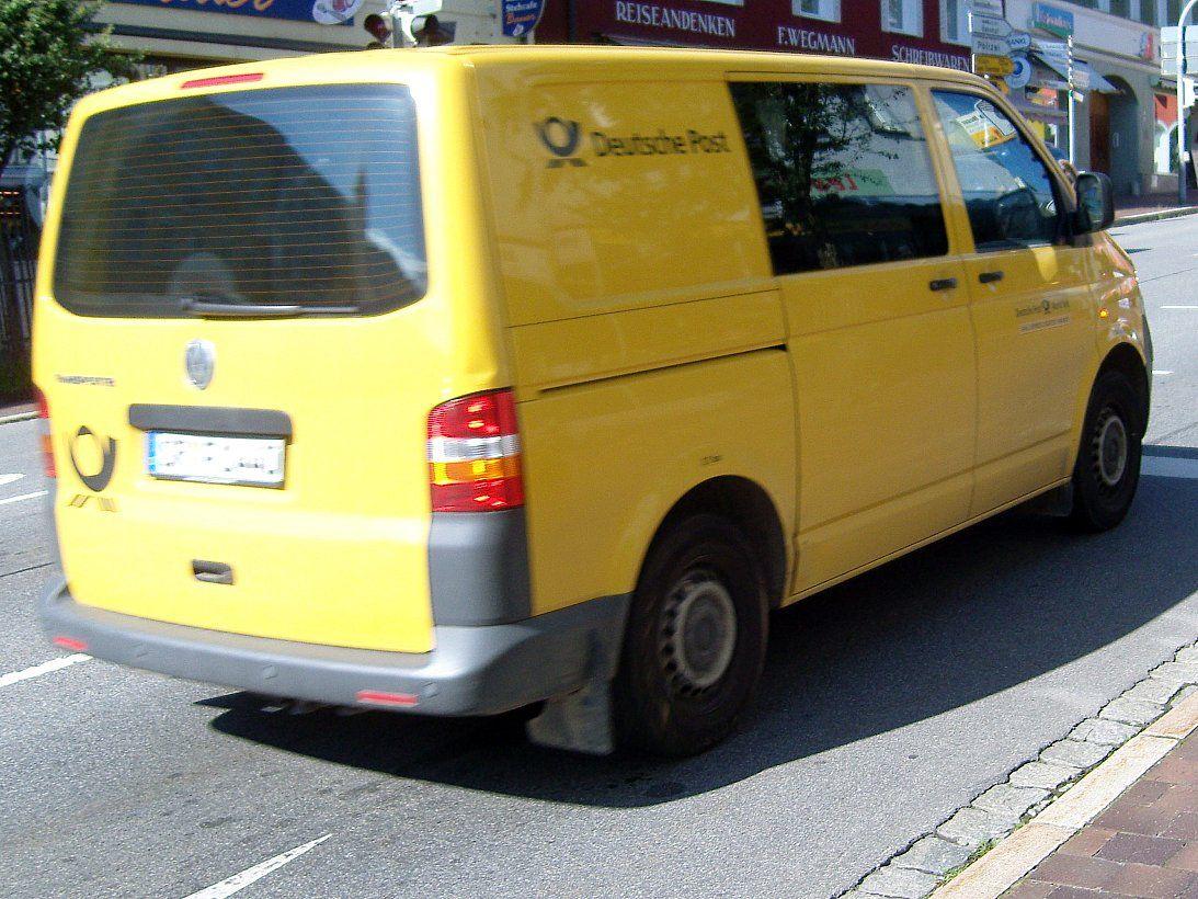 VW T5 der Deutsche Post Vw bus, Vw t5, Deutsche post