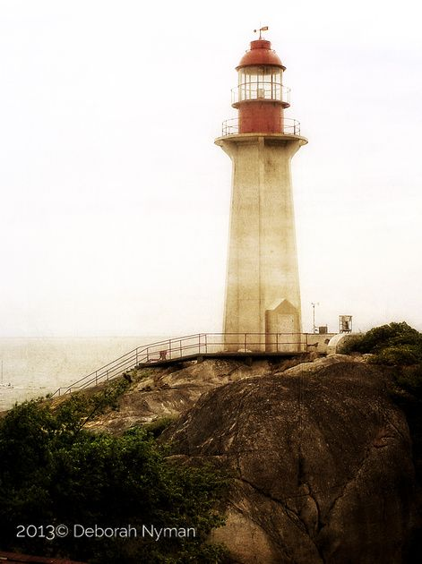 Sheringham Point Lighthouse - North Vancouver #Vancouver #lighthouse