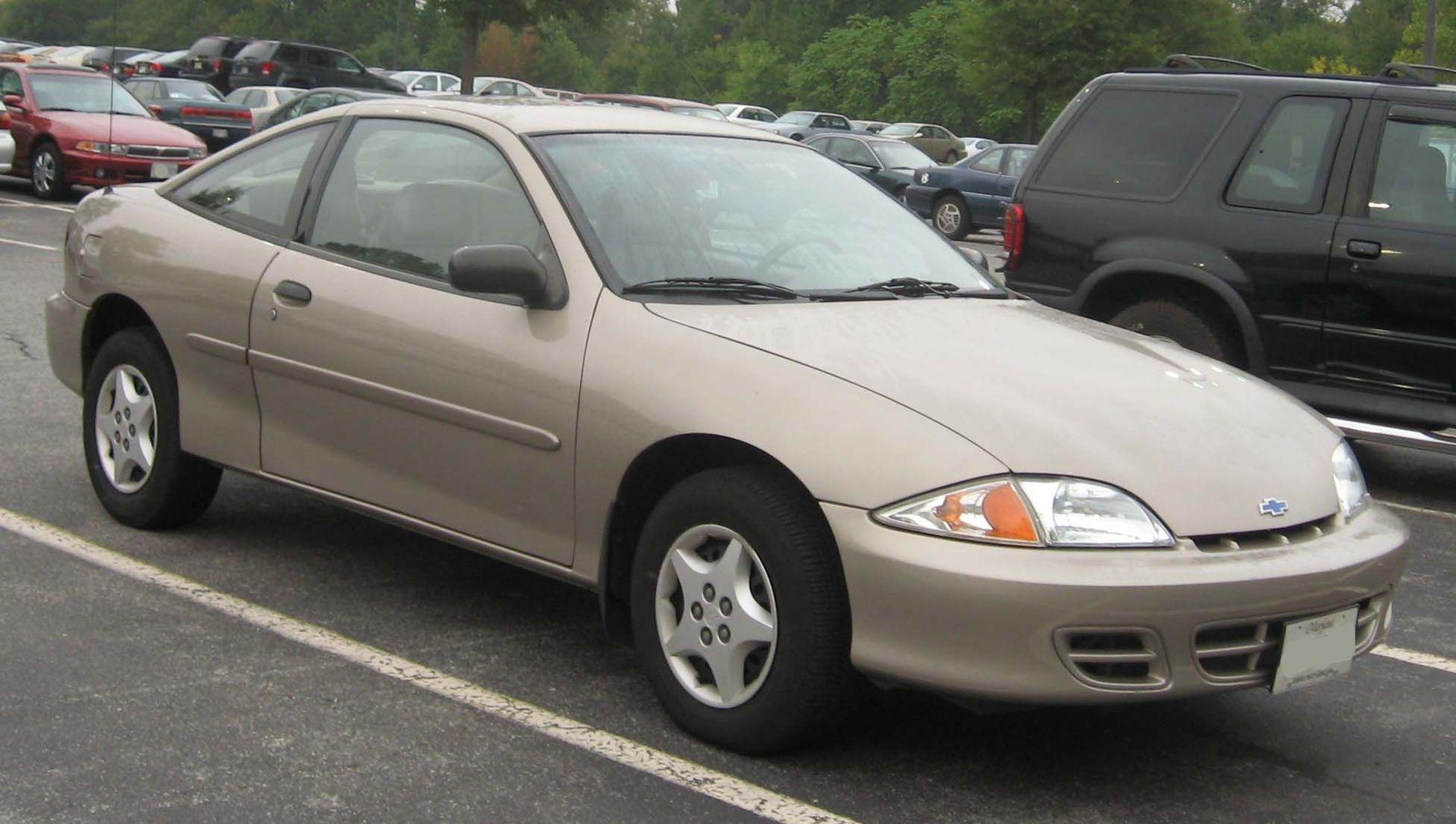 2000 2002 Chevrolet Cavalier Coupe Chevrolet Cavalier