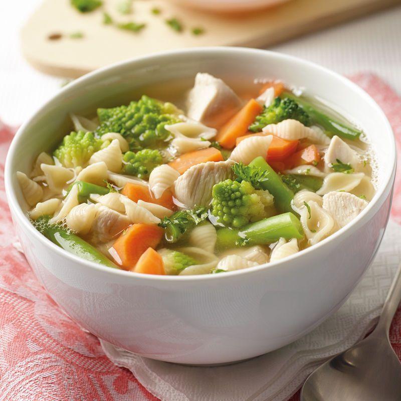 Koche jetzt Hühner-Nudel-Suppe in 0min und entdecke zahlreiche weitere Weight Watchers