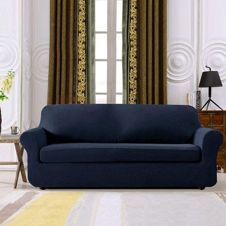Groovy Subrtex 2 Piece Spandex Stretch Sofa Slipcover Loveseat Lamtechconsult Wood Chair Design Ideas Lamtechconsultcom