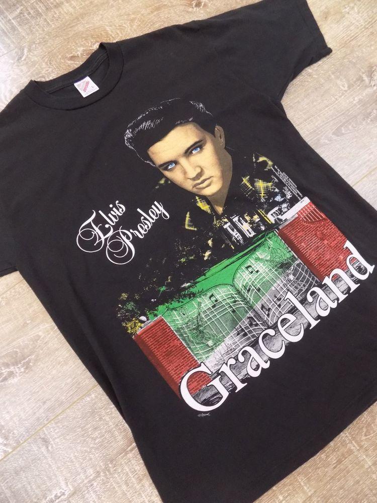 Vintage Elvis Graceland T Shirt