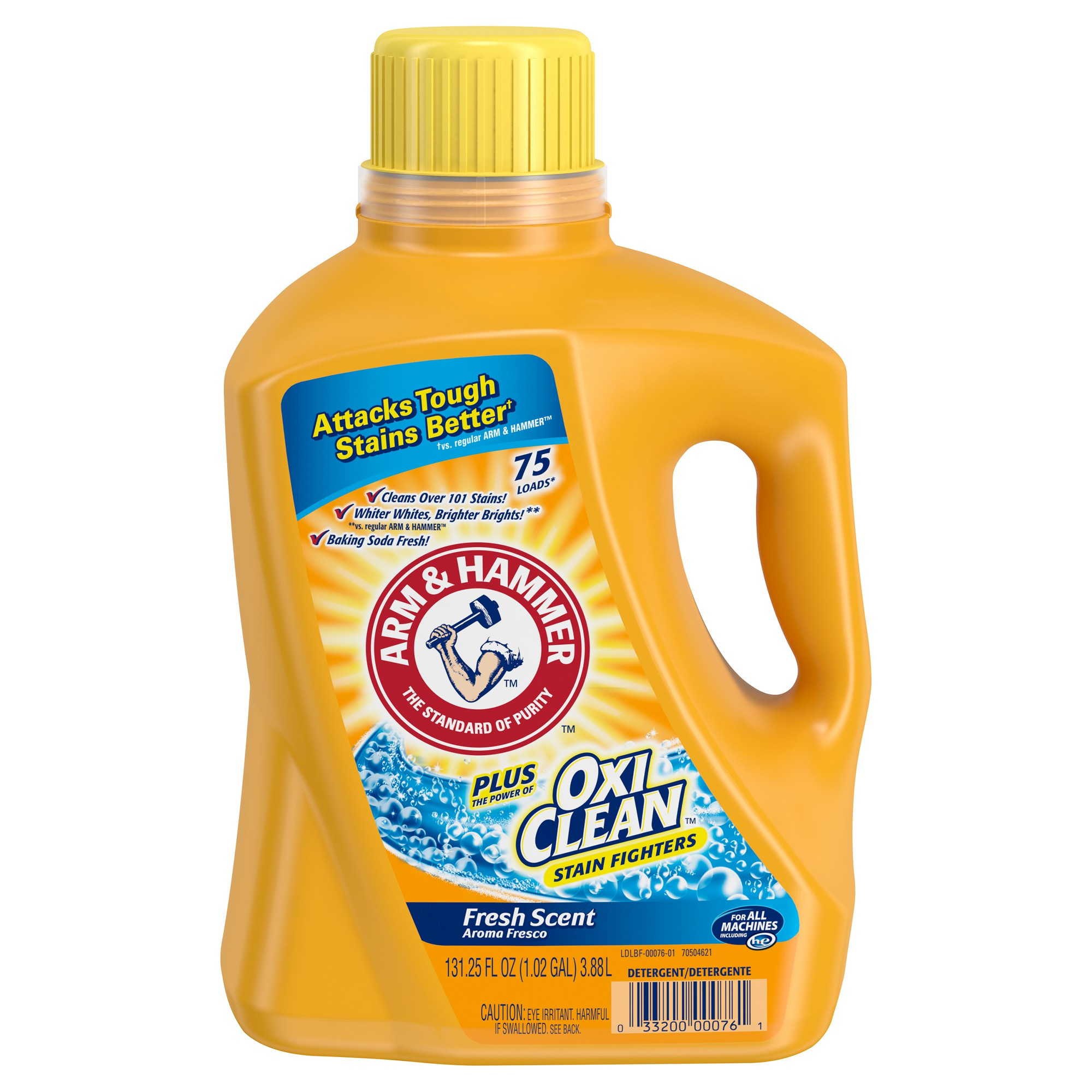 Arm Hammer Oxiclean Fresh Scent Liquid Laundry Detergent