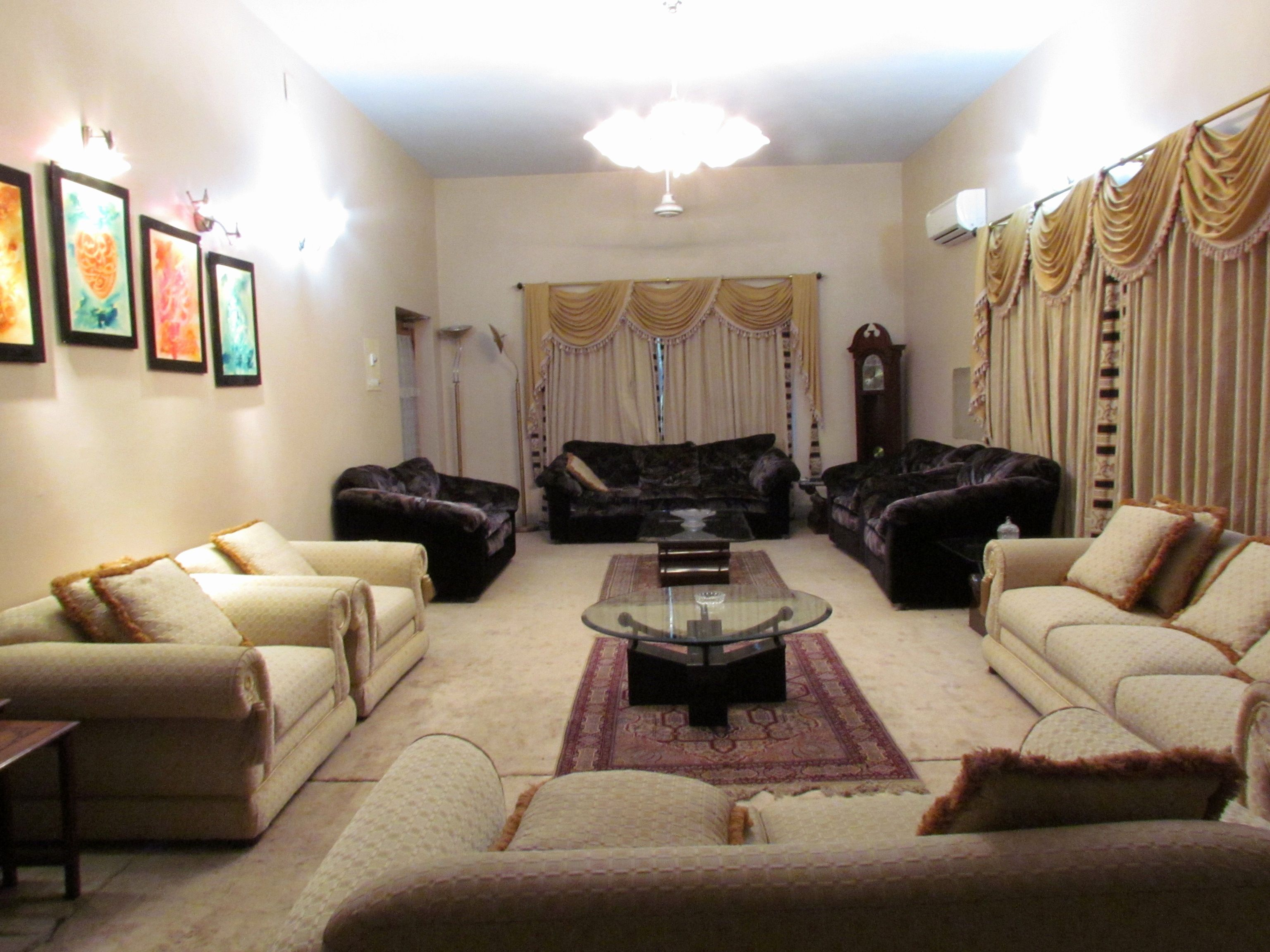 living room furniture pakistan  Apartment living room, Living