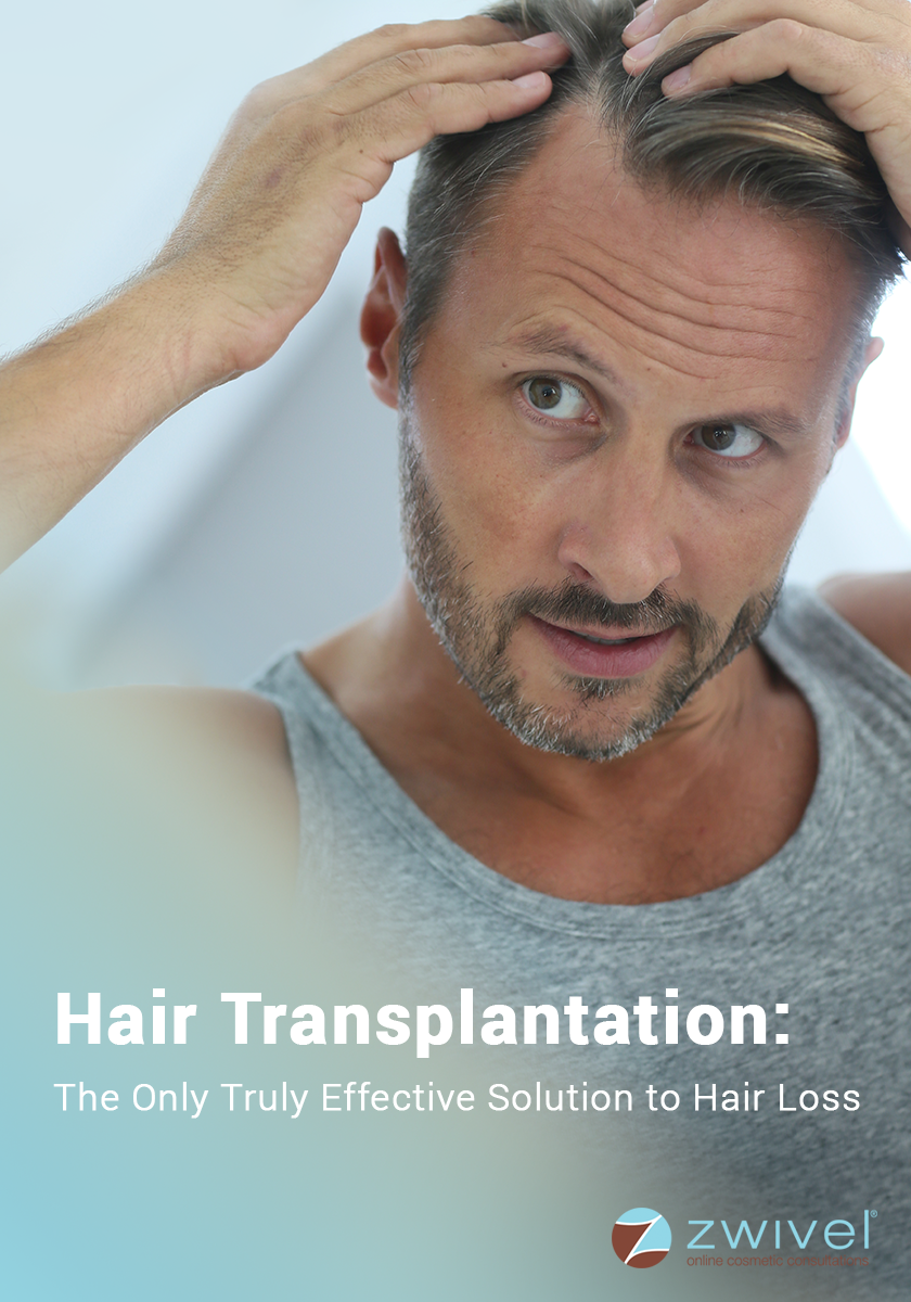 If you're losing your hair and want to be pro-active about it, you've really only two options: either start wearing good quality wigs, or go for a hair transplant.