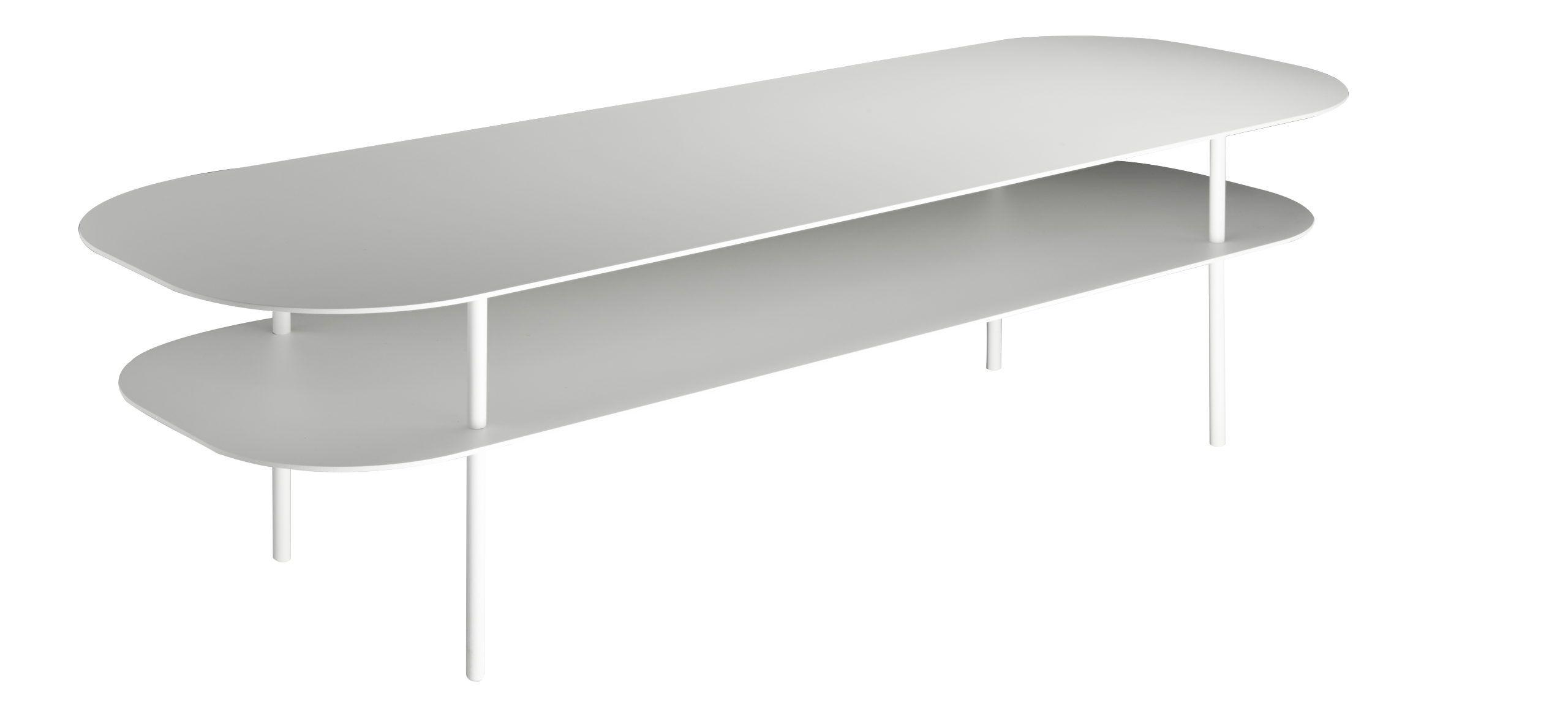 COLINE white Metal coffee table | habitat.fr | Meubles - Furnitures ...