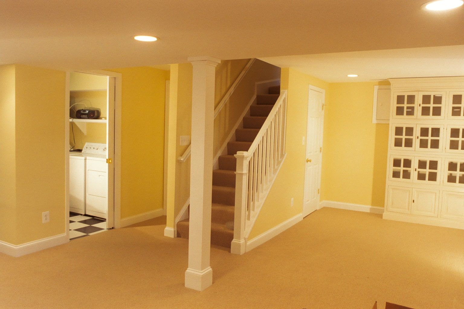 Basement Remodeling Milwaukee Exterior Interior basement renovation to include rebuilding stairs and pulling back