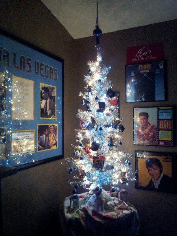Elvis Christmas tree in my Elvis Room (doesn't everyone have an Elvis  Room?)! - Elvis Christmas Tree In My Elvis Room (doesn't Everyone Have An