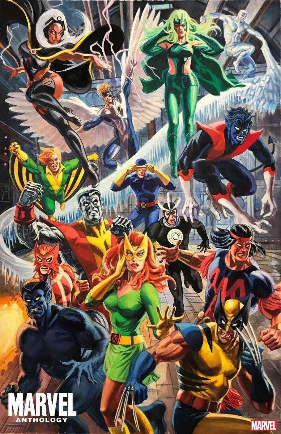 Marvel Anthology Interior Art The X Men By Dan Brereton In 2020 Comics Comic Book Artwork Marvel Comics Art