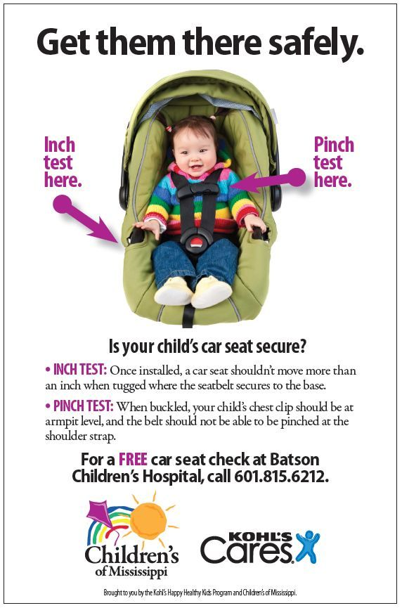 Mississippi Car Seat Laws