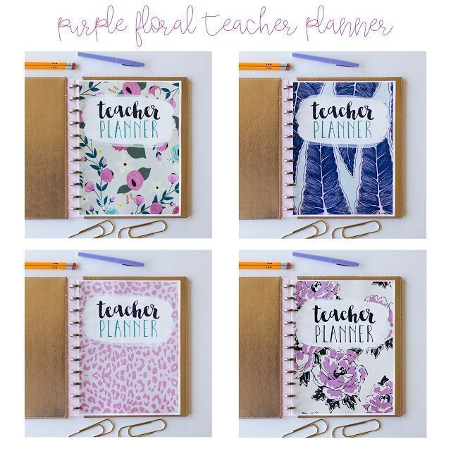 Discbound Binders Are Perfect For Teacher Planners
