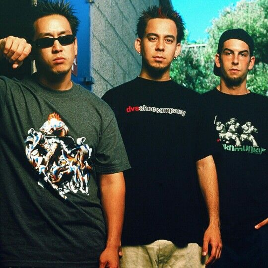 Linkin Park Mike Shinoda, Joe Hahn, Rob Delson