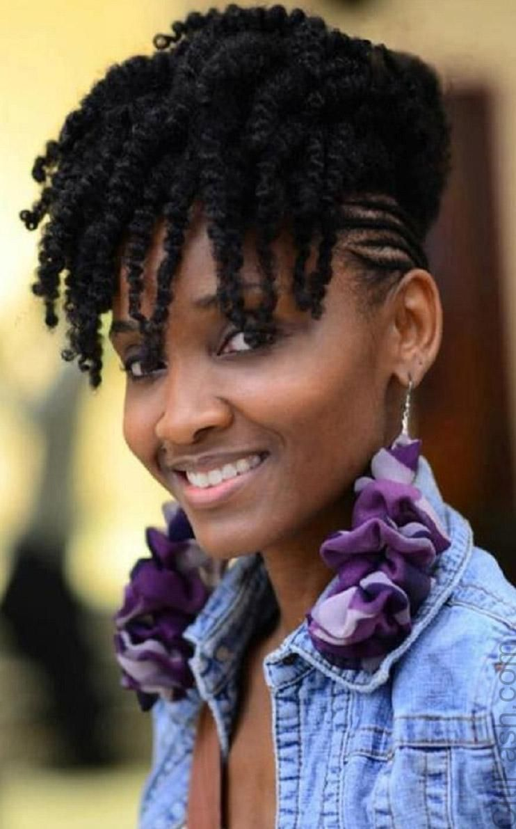 short natural hairstyles for black women | ManeTenance | Pinterest ...