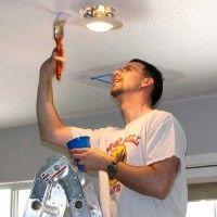 Comment peindre un plafond peinture plafond travaux d 39 int rieur pinterest peindre - Comment peindre un plafond facilement ...
