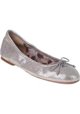 Sam Edelman - Felicia Ballet Flat Silver Leather