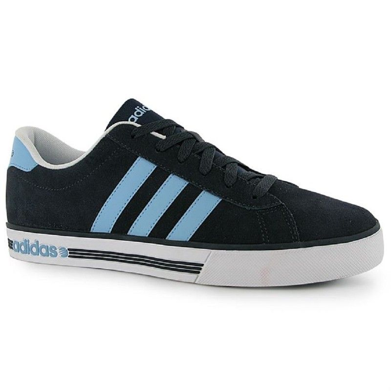 af07fb125f8 Mens Adidas Trainers Neo Daily Team Suede Blue Navy UK Size 9.5 EU 44 NEW  Listing in the UK 9 (Eu 43 US 10.5)