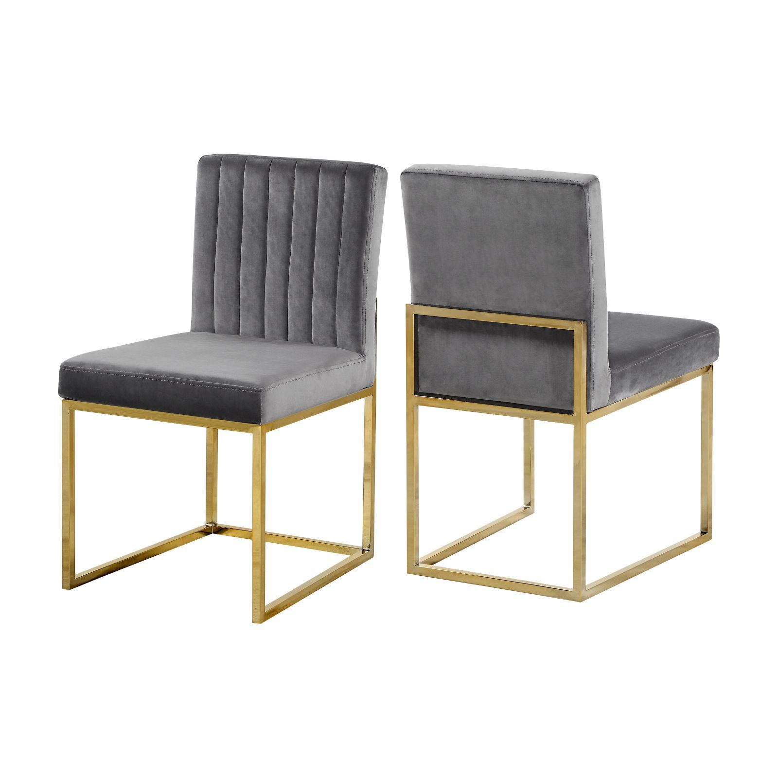 Meridian Furniture Inc Giselle Upholstered Dining Side Chair Set
