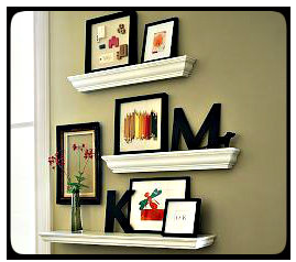 Unconventional Uses For Crown Molding Decor Decorative Shelving