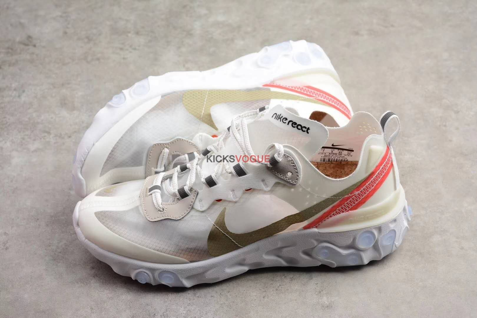 0714d61aa183 Nike React Element 87 Sail Light Bone AQ1090-100
