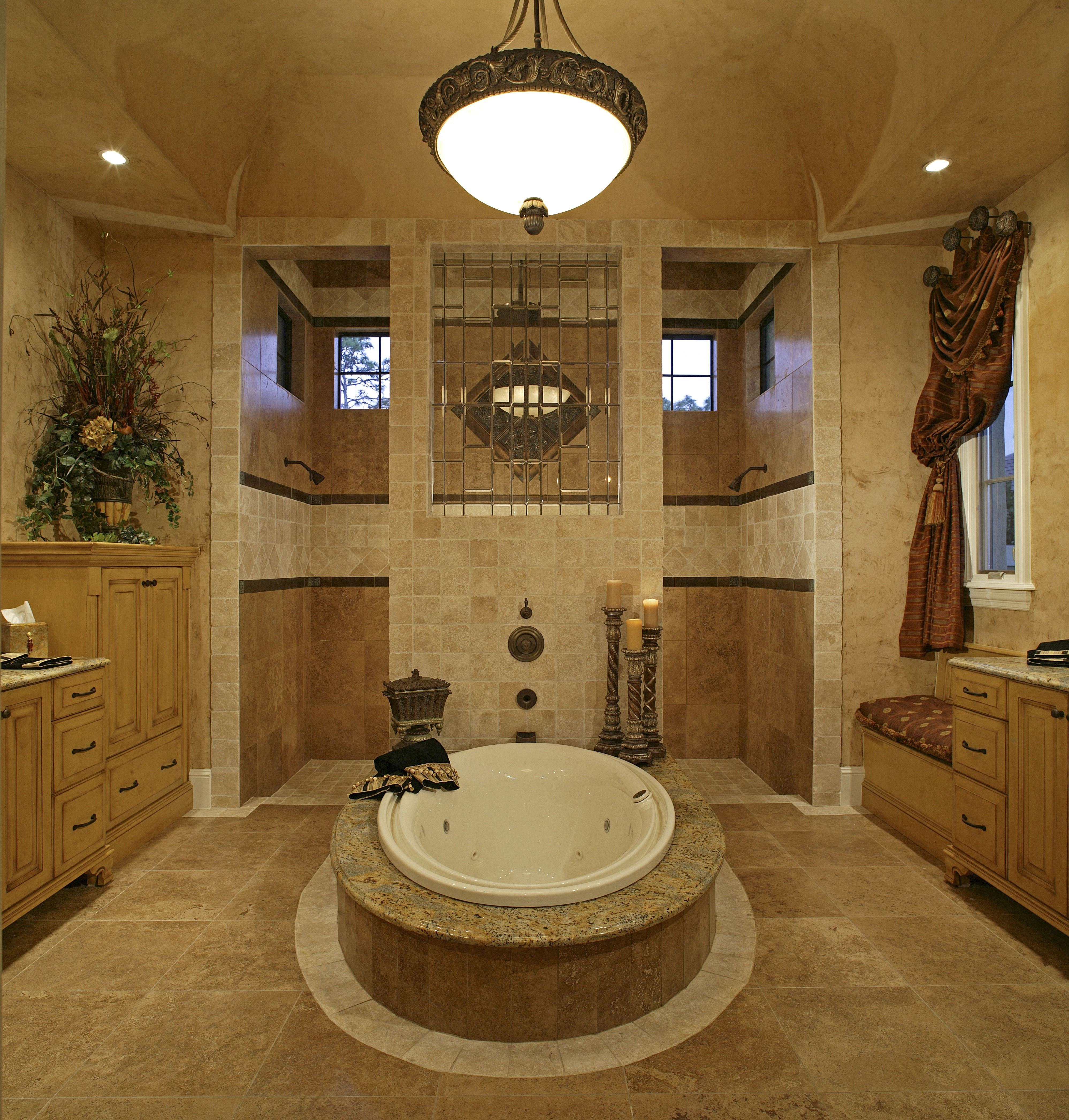 A Large Traditional Master Bath With A Giant Walk In Shower And Beauteous Average Master Bathroom Remodel Cost Inspiration Design