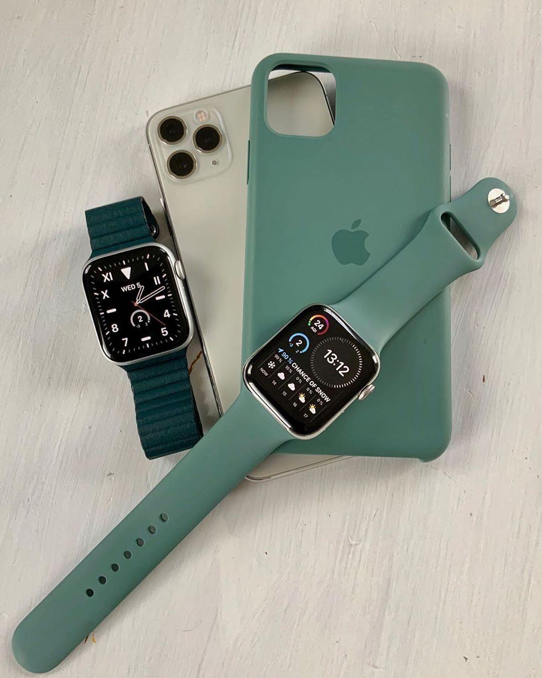 apple watch accessories in 2020 | Apple watch accessories, Apple watch silicone band, Apple watch iphone