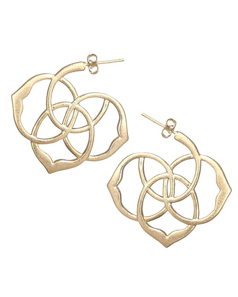 Inca Hoop Earrings in Gold #KendraScott