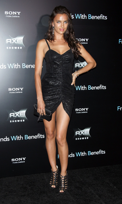 Black dress very - Irina Shayk Wear Black Dress At Friends With Benefits Premiere In New York