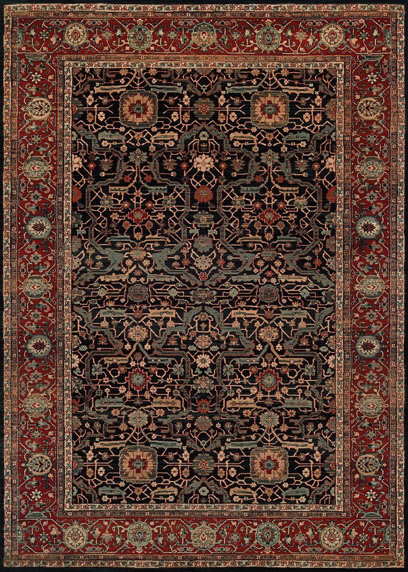 Couristan Old World Classic 4348 0500 Navy Rug Wool Area Rugs Rugs On Carpet Area Rugs