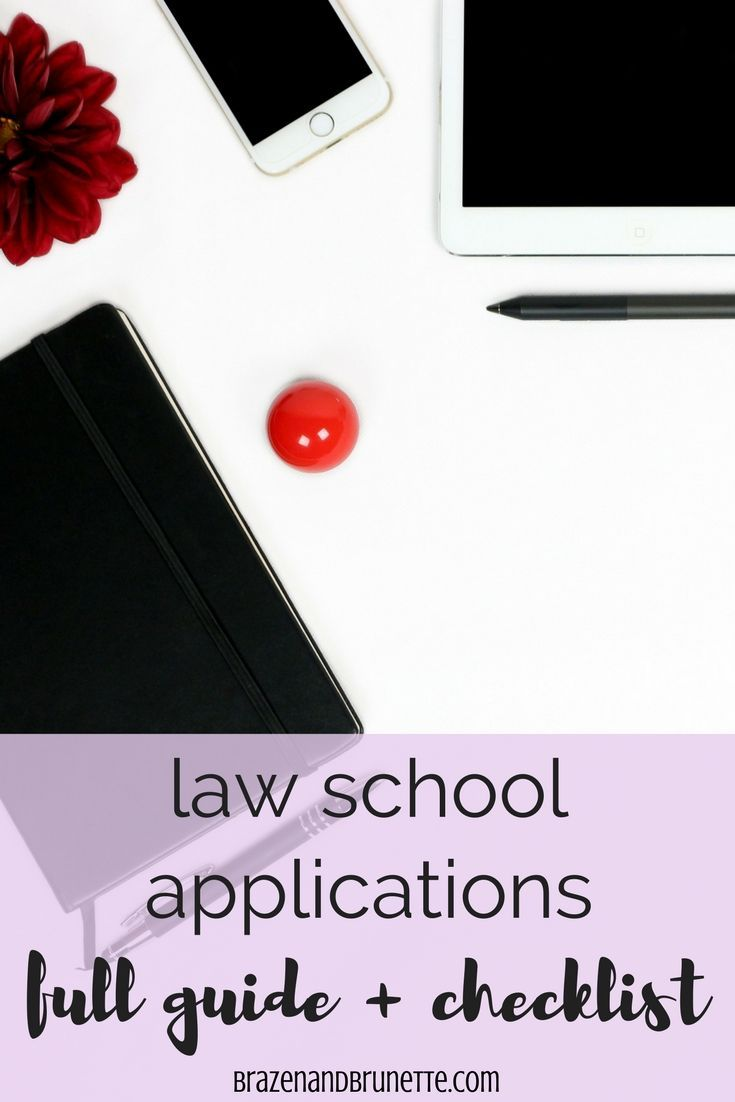 Don't submit your law school application without checking
