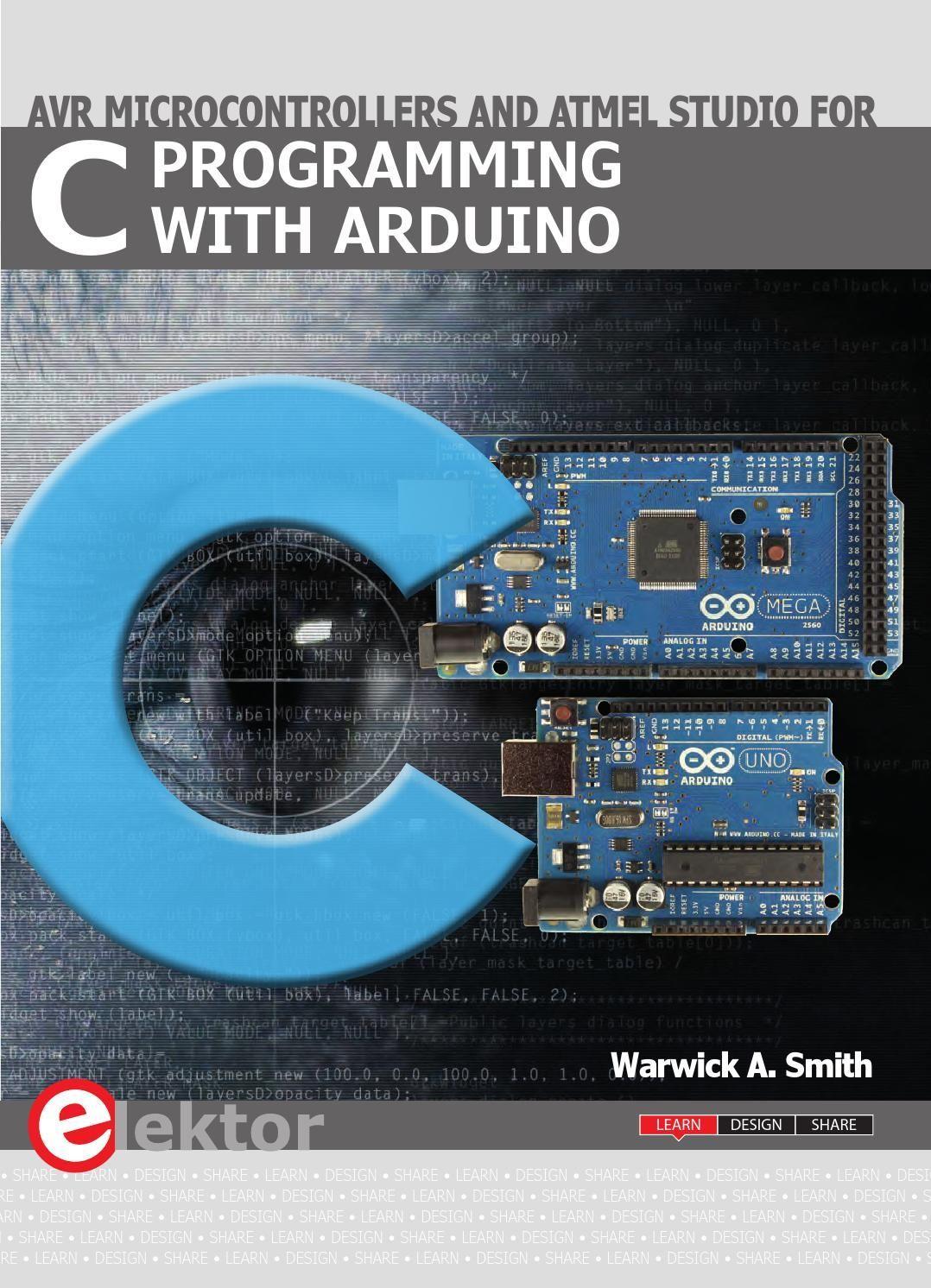 C Programming With Arduino Arduino Programming Arduino Books C