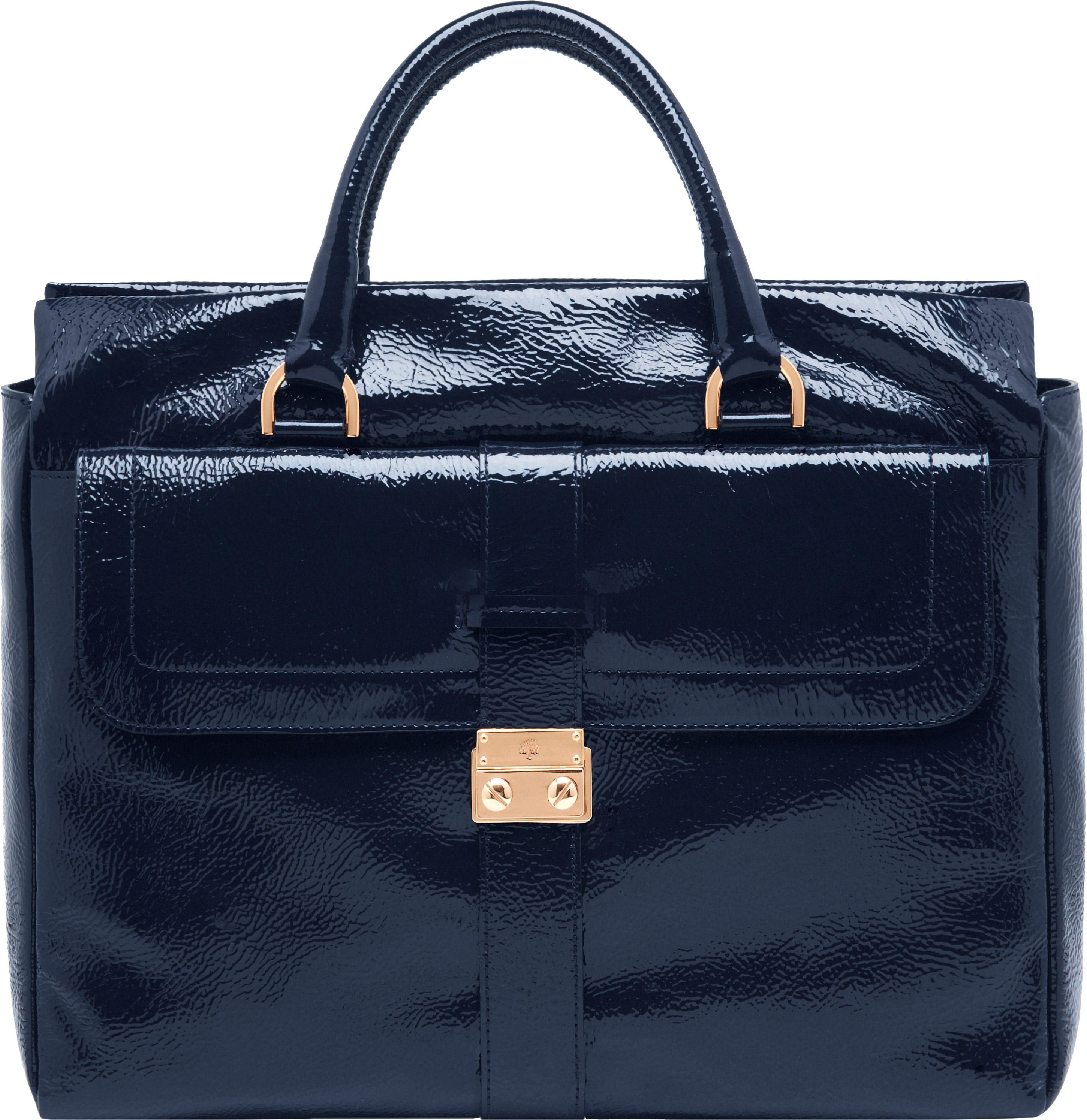 5a5b88ea3d98 123456789 39cb8 6875c  best price mulberry harriet tote nightshade blue  spongy patent 7be2a 5c177