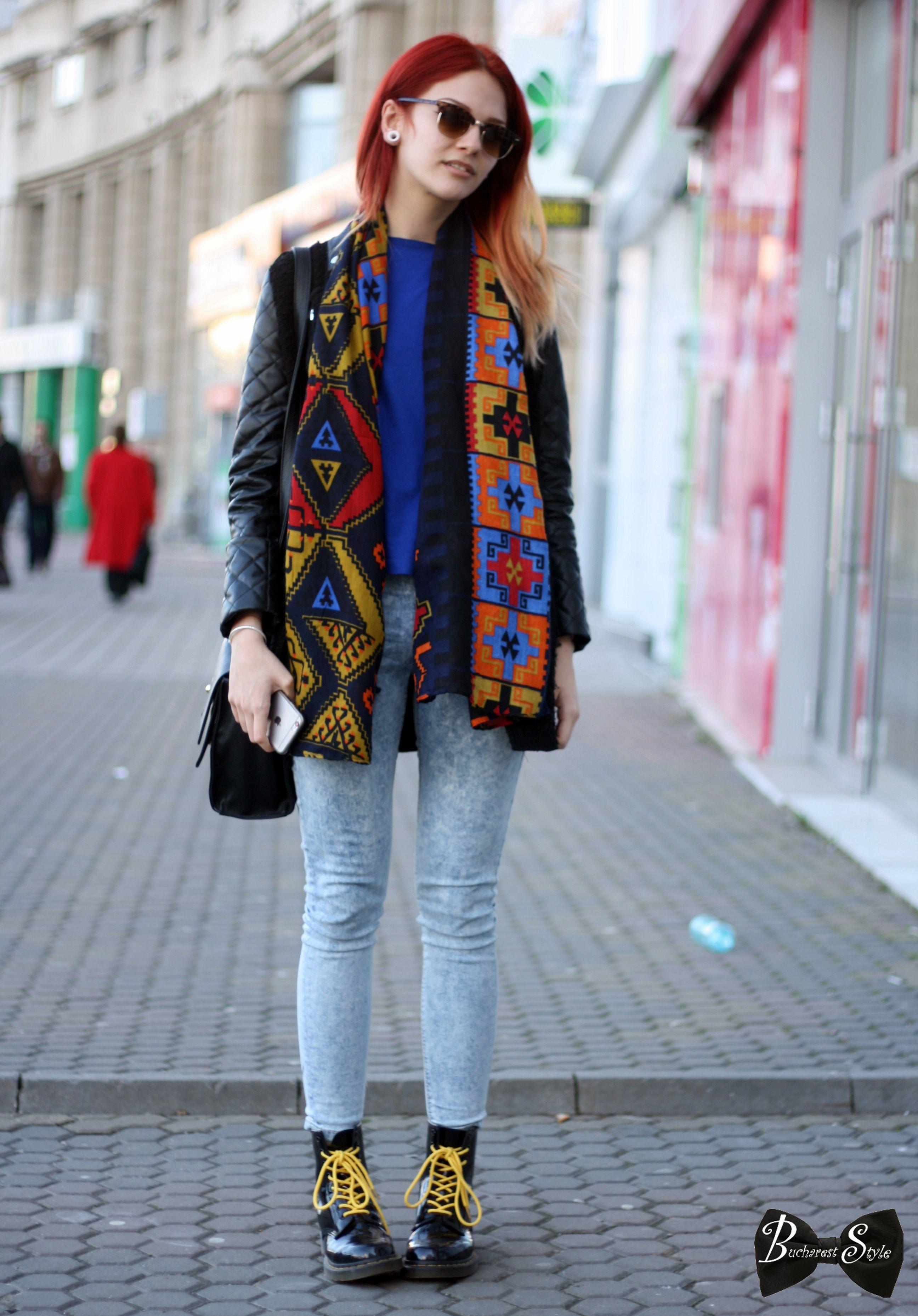bucharest style street style colors print romania street style romania street fashion