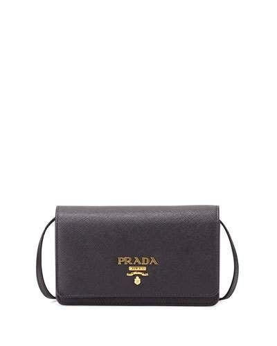 427a1aa46760 PRADA Half-Flap Mini Crossbody Bag