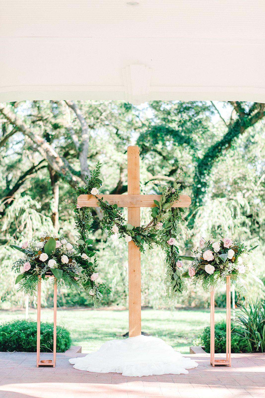 Elegant Christian Wedding Ceremony Christian Wedding Ceremony Outside Wedding Ceremonies Christian Wedding