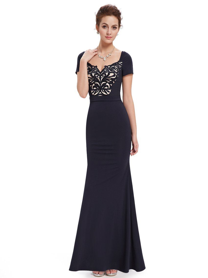 51c011faa9 Ever Pretty Women's Elegant Sexy Long Evening Dres 08522: Amazon.co.uk:  Clothing