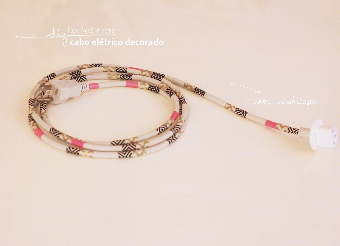 #diy #craft #customization # washitape http://tmblr.co/Zk4jHs15888Xt Fotos: Dona da Casa!
