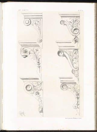 Spécimens de la décoration et de l'ornementation au XIXe siècle :: Mary Ann Beinecke Decorative Art Collection