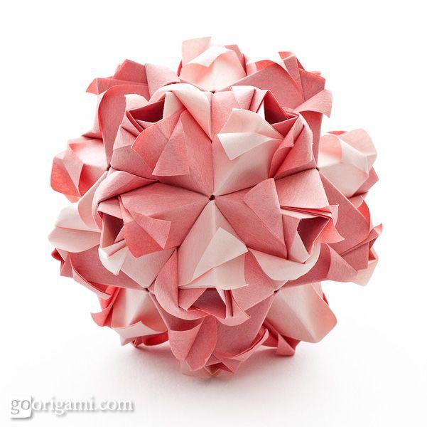 origami little roses 4 pinterest origami diagram and rh pinterest com Kusudama Ball Diagrams Festival Kusudama Diagrams