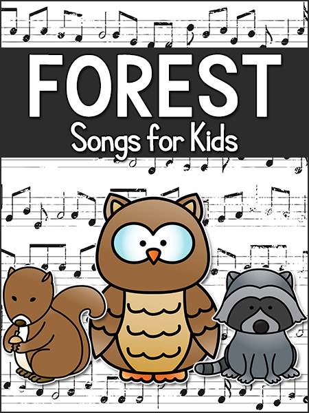 Forest Animal Songs for Kids Forest school activities