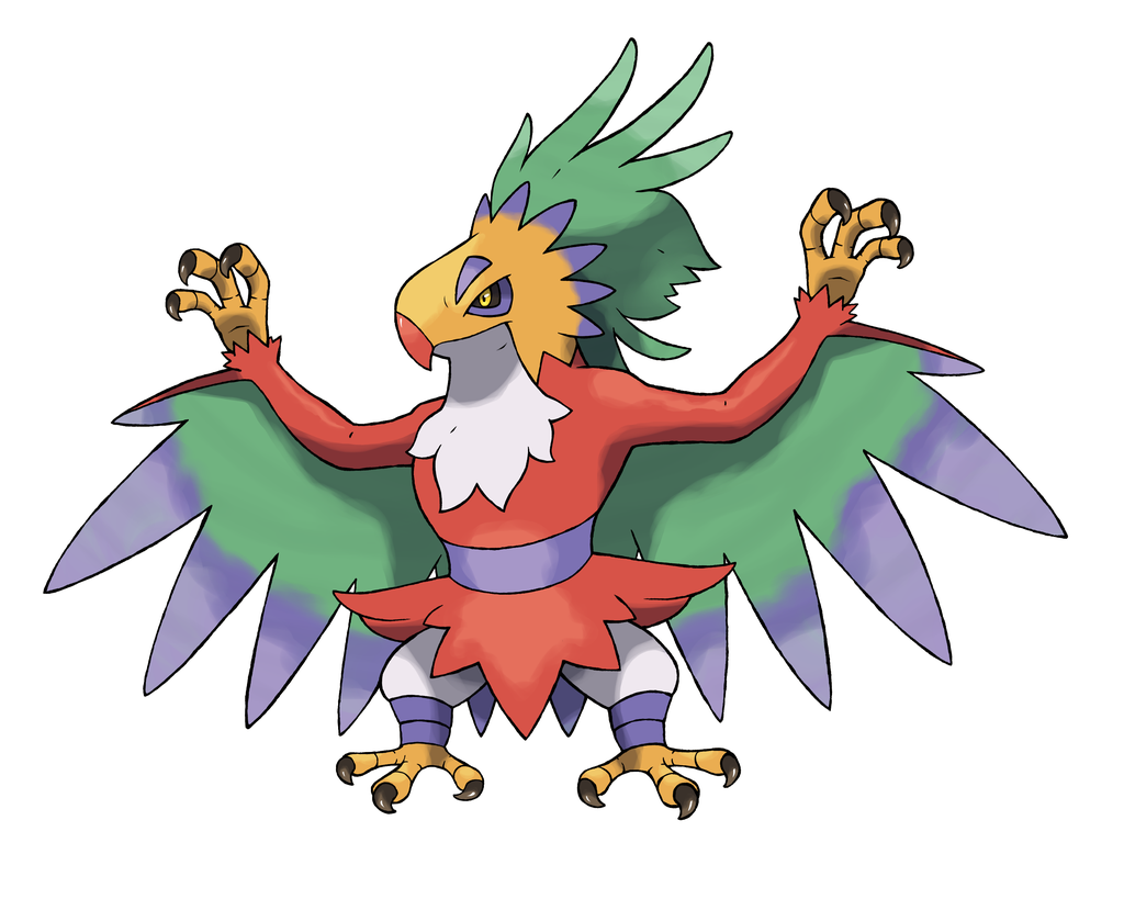 -foams At The Mouth- Hawlucha –> Luchauhlti Fighting